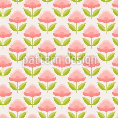 Bonbon Blumen Rapportiertes Design