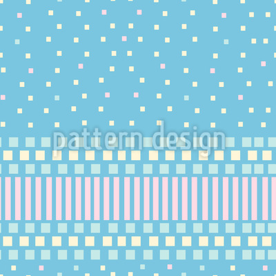 Cute Baby Pattern Design