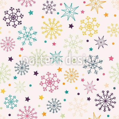 Schnee Macht Spaß Designmuster