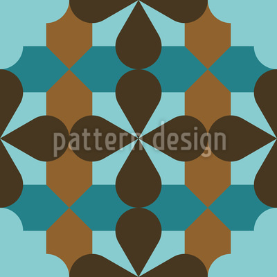 Decorative Ornaments Repeat Pattern