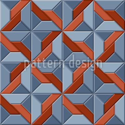 Engraved Print Design Pattern