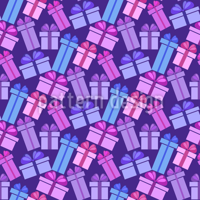Geschenke Über Geschenke Nahtloses Muster