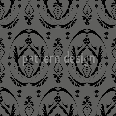 Baroque Style Seamless Vector Pattern Design