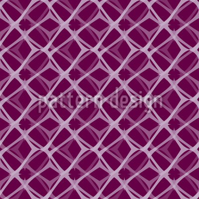 Double Mesh With Prickles Seamless Vector Pattern Design