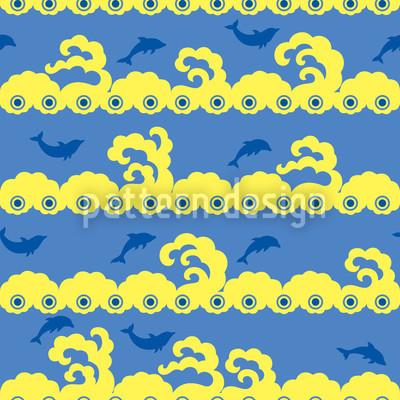 Wellenspiel Vektor Muster