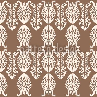 ポリネシア王 シームレスなベクトルパターン設計