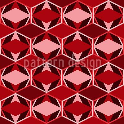 グリーティング菱形 シームレスなベクトルパターン設計