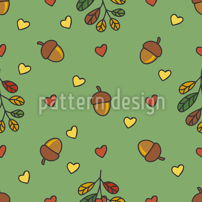 Herzlicher Herbst Vektor Muster