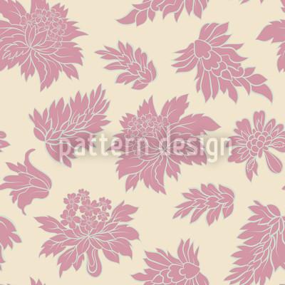 Barock Blüte Vektor Design