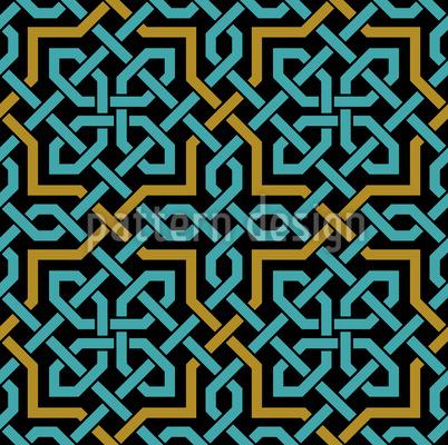 Arabische Webung Musterdesign