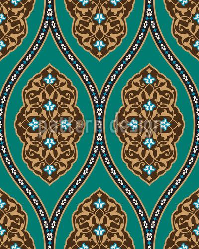 Osmanischer Palast Vektor Ornament