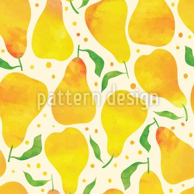 Süß Und Gesund Muster Design