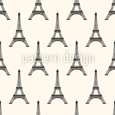 Eiffelturm Nahtloses Vektormuster