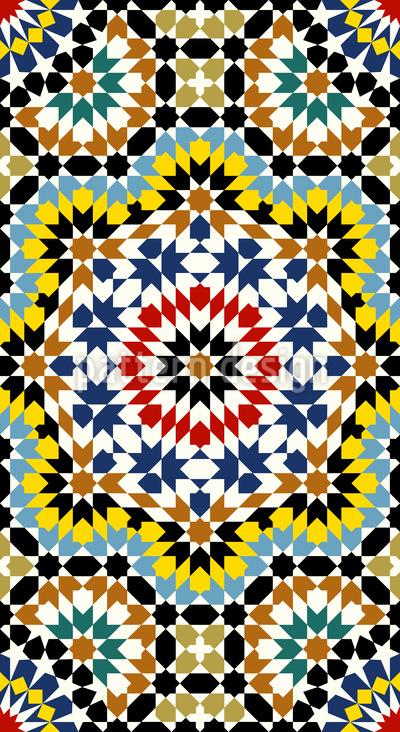 Ein Riad In Fes Designmuster