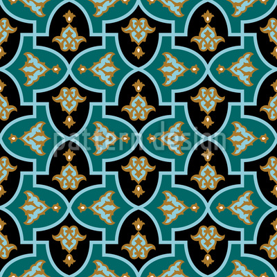 Islamische Blume Vektor Ornament