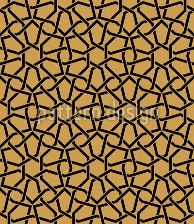 Kreis Gitter Muster Design