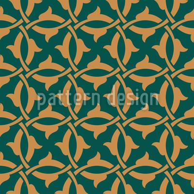 Gothic Tendrillars Seamless Vector Pattern Design
