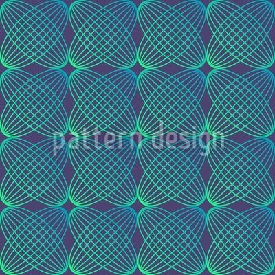 Abstrakte Runde Linien Muster Design
