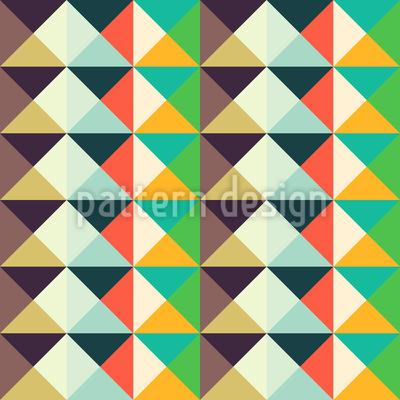 Endlose Dreiecke Vektor Muster