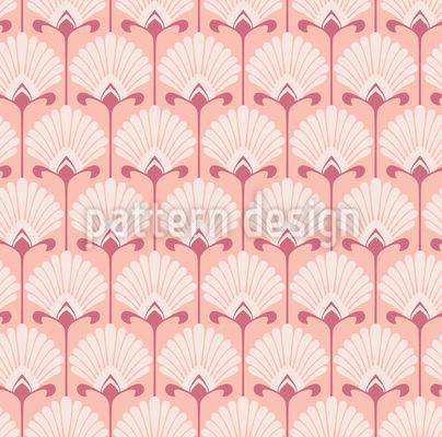 Art Deco Fächerblatt Designmuster