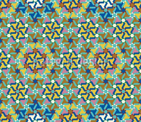 Antiker Kilim Nahtloses Vektor Muster