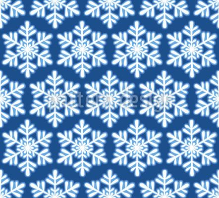 Schneeflocken Arrangement Designmuster