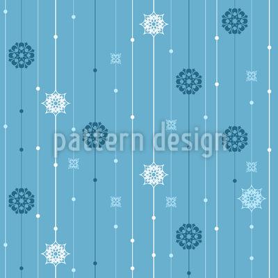 Schneeflocken Mobile Vektor Design