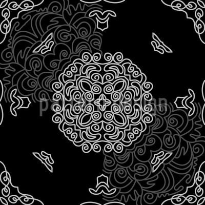 In Viertel Schritten Muster Design