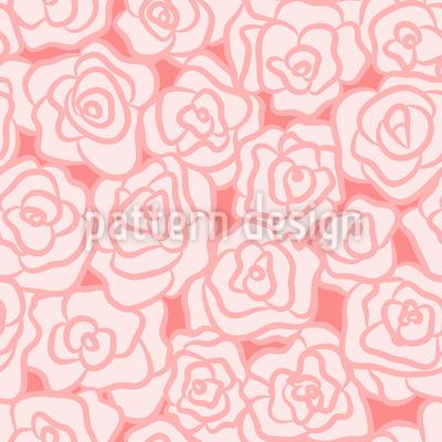 Blume Der Liebe Musterdesign