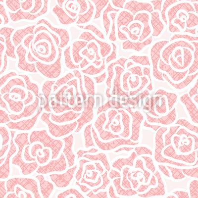 Schöne Rosen Vektor Ornament