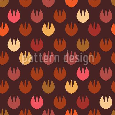 Seele Des Herbstes Muster Design