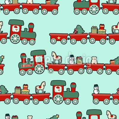 Weihnachts Lokomotive Rapport