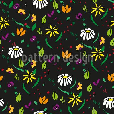 Blumen Streuen Vektor Design