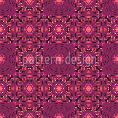 Florale Visionen Nahtloses Vektor Muster