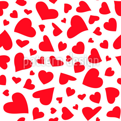 Sweethearts Vector Pattern