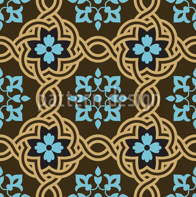 Arte Antiga Design de padrão vetorial sem costura