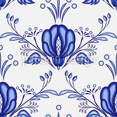 Gschel Blumen Musterdesign