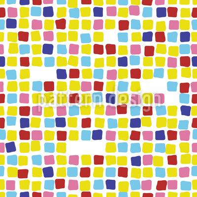 バルセロナモザイク シームレスなベクトルパターン設計