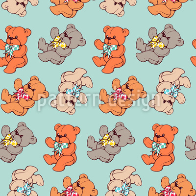 Teddy Bear Vector Ornament