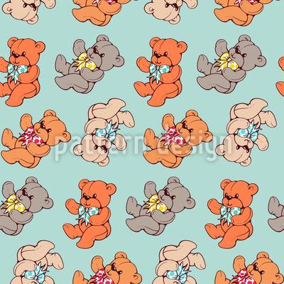 Teddybär Vektor Ornament