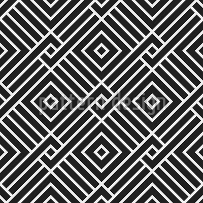 Interlocking Squares Seamless Vector Pattern Design