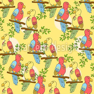 Tropische Papageien Rapport
