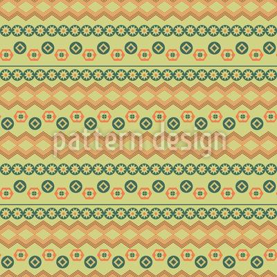 Tribal Bordüren Vektor Ornament