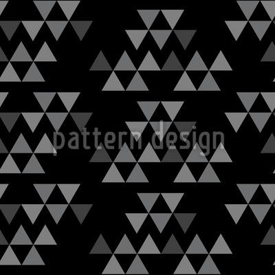 Dreieck Fragmente Nahtloses Vektormuster