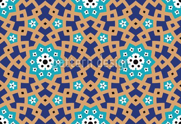 Traditionelles Marokko Nahtloses Muster