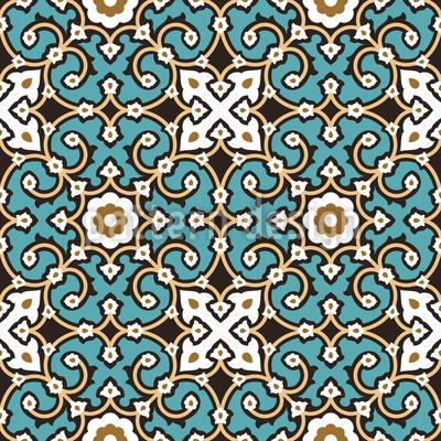 Klassische Arabesken Muster Design