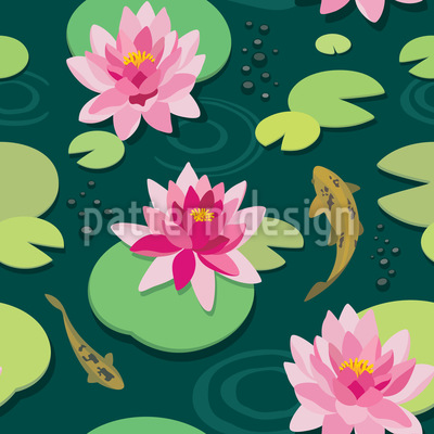 Quiet Pond Repeating Pattern