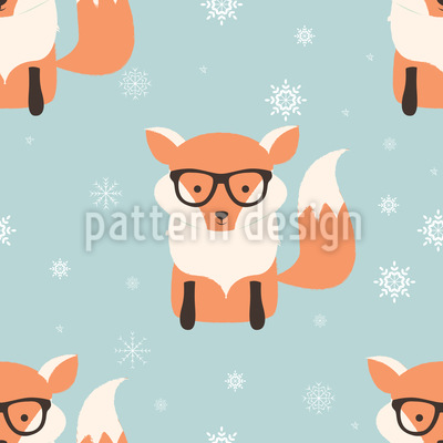 Cunning Fox Pattern Design