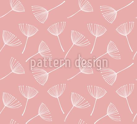 デリケートなタンポポの種 シームレスなベクトルパターン設計