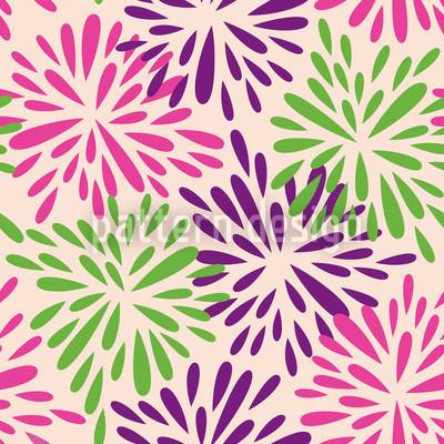 Farbexplosion Vektor Ornament